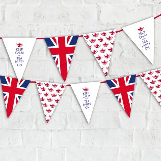 Party Bunting and Cake Toppers